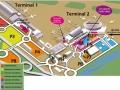 plan aéroport de Nice Cote d'Azur