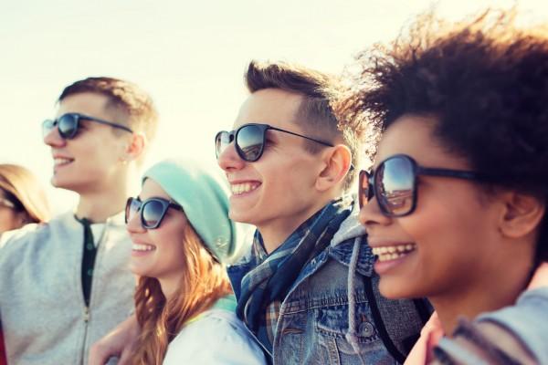 groupes d'étudiants partis en séjours linguistiques aux USA